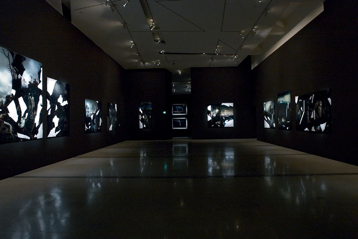 "Bill Henson, ""Bill Henson: Three Decades of Photography"", installation view at the National Gallery of Victoria, 2005."
