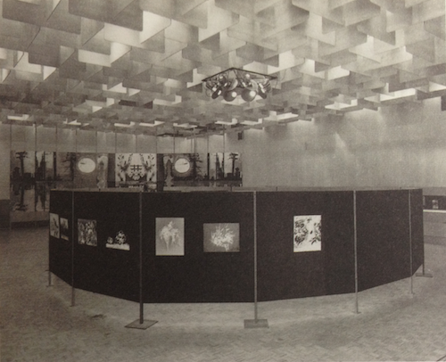 """Frontiers"" exhibition, Temporary Exhibitions Hall, National Gallery of Victoria, 1971"