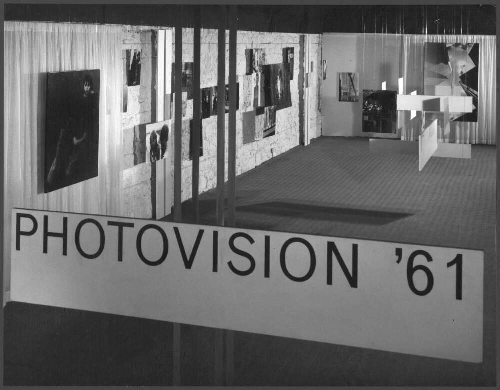 "Wolfgang Sievers, ""Photovision '61"", exhibition at the Museum of Modern Art, Flinders Street, Melbourne, Victoria, 1961 (NLA)"